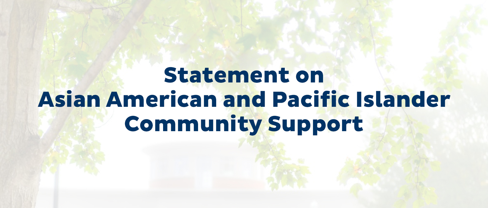 Statement on AAPI community support